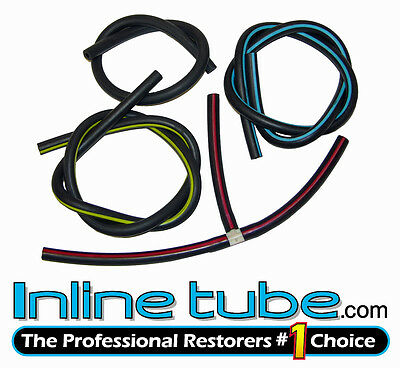 1971-72 Oldsmobile Engine Vacuum Hose Set 455 350 Auto Trans Color Hose 8pc