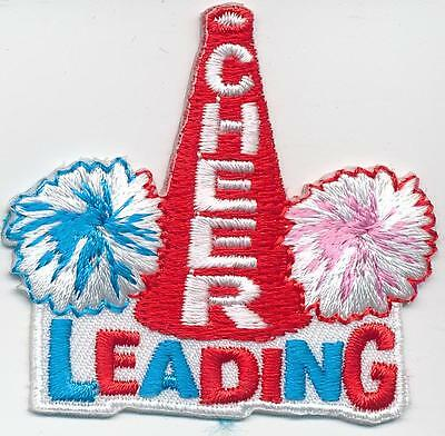 Boy Girl cub CHEERLEADING Cheer Leader Fun Patches Crests Badges GUIDES SCOUT