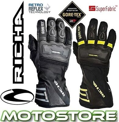 Richa Cold Protect Gtx Goretex Thermal Winter Motorcycle Waterproof Gloves