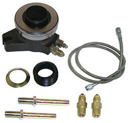 New Ram Hydraulic Throwout Bearing For Stock Clutches,with Line,fittings,& Shims