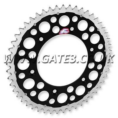 Kawasaki Klx300 Klx 300 1997-2006 Renthal Twin Ring 50-Tooth Black Rear Sprocket
