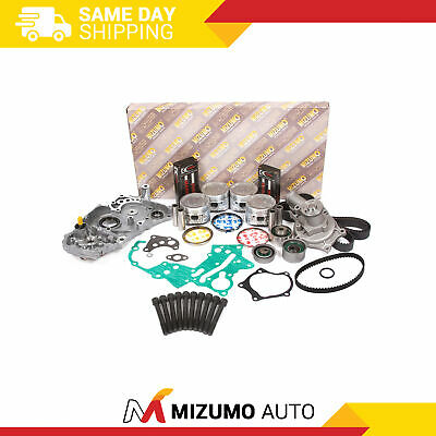Overhaul Engine Rebuild Kit Fit 90-92 Eagle Mitsubishi Plymouth Non-Turbo 4G63