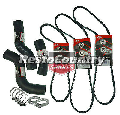 Landcruiser 80 Series FZJ80 4.5L 1FZ-FE Hose & Belt Kit Radiator 4WD 4x4