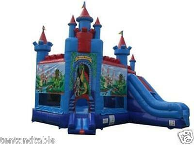 Commercial Inflatable Bounce House Slide Combo Castle Moonwalk Jump Tentandtable