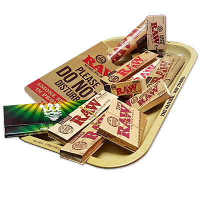 SMO-KING™ X RAW Rolling Papers Gift Set Features RAW Rolling Tray and more!!