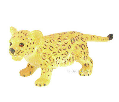 AAA 96705STA  Leopard Cub Standing Model Animal Toy Figurine Replica - NIP