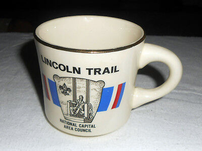 Collectible Boy ScoutsCoffee Mug LINCOLN TRAIL National Capital Area Council