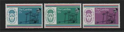 Gambia 1977 Festival Of Arts SG 361/3 MNH