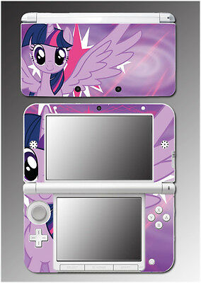 My Little Pony Friendship is Magic Twilight Sparkle Game Skin Nintendo 3DS XL