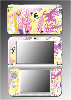 Fluttershy My Little Pony Friendship is Magic MLP Game Skin for Nintendo 3DS XL