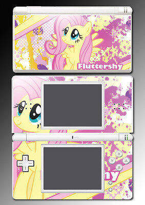 Fluttershy My Little Pony Friendship is Magic Game Skin Cover Nintendo DS Lite