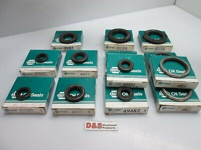 Lot of NAPA Oil Seals 49487, x2 49360, x2 49111, x2 49184, x3 49482, x3 49511