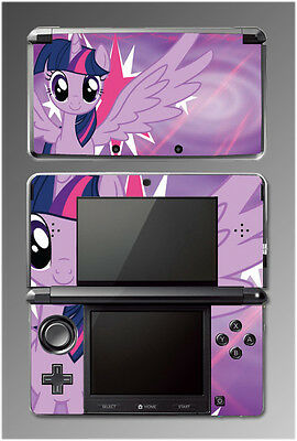 Twilight Sparkle My Little Pony Equestria Girls MLP Game SKIN Cover Nintendo 3DS