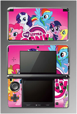 My Little Pony Friendship is Magic Equestria Girls Game SKIN Cover Nintendo 3DS