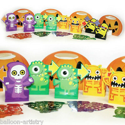 28 Piece Boo Buddies Monsters Halloween Favour Candy Hunt Party Game