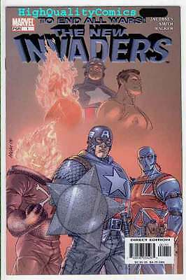 NEW INVADERS #1 2 3 4 5, NM+, Captain America, Ghost Rider, War