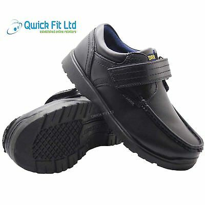 New Boys Smart Dress Shoes Kids Trainers Formal Wedding Back To School Shoes 8-2