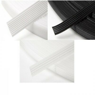 Hemline 1m x 12mm Uncovered Polyester Boning