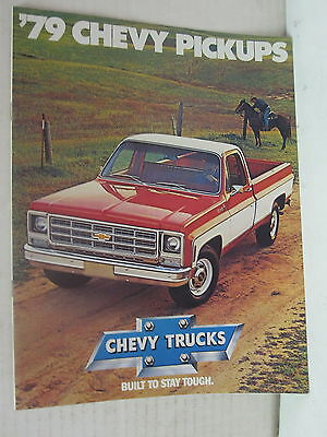 1979 Chevy Pickups Booklet