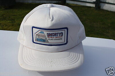 Ball Cap Hat - Shorty's Oilfield Services Plug Loggers Oil Gas Alberta (H701)