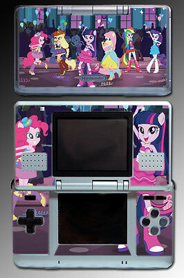 My Little Pony Equestria Girls High School Video Game SKIN Cover Nintendo DS