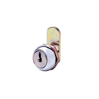 Firstlock Cam Lock NX11RKA Round 11mm 5 Disc KA Letterbox Cabinet Cupboard