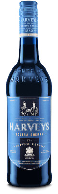 (14,65€/l) Harveys Bristol Cream Sherry 17,5% 0,75l Flasche