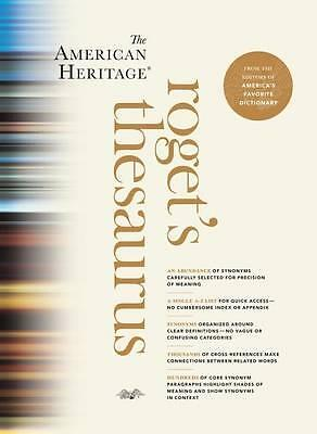 The American Heritage Roget's Thesaurus - PRE-ORDER