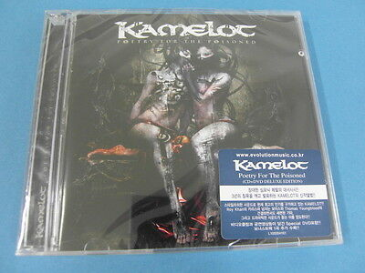 Kamelot - Poetry For The Poisoned Cd & Dvd $2.99 S&h