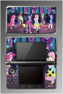 My Little Pony Equestria Girls High School Video Game SKIN Cover Nintendo 3DS