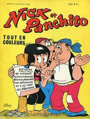 Nick Et Panchito N°10. Editions Mondiales. 1964.