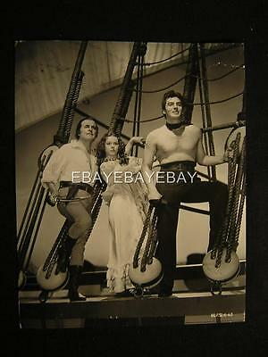 1940 Victor Mature Louise Platt Captain Caution VINTAGE DBW Movie PHOTO 300P