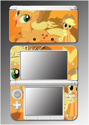 My Little Pony Applejack Friendship is Magic Video Game Skin for Nintendo 3DS XL