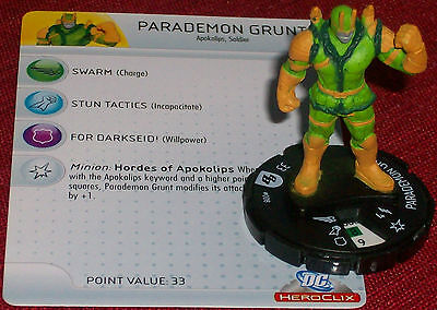PARADEMON GRUNT #008 Brave and the Bold DC HeroClix