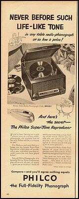 1951 Vintage ad for PHILCO/Phonograph (120612)