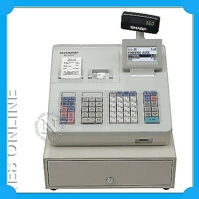 Sharp XE-A307W Cash Register/Drawer+Raised Keyboard Replaces XEA303 RRP$1095