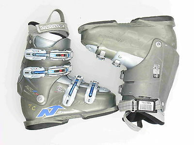 Used Nordica Easy Move W Gray Ski Boots Women's