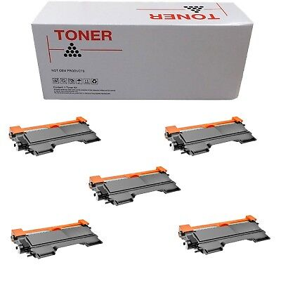 5 Toner Compatibili Brother Tn-2220 Bk Nero Mfc-7860Dw