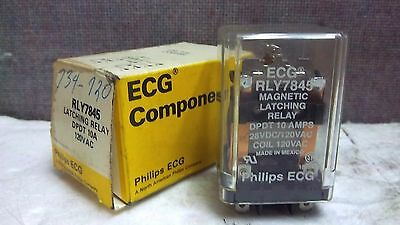 Phillips Ecg Latching Relay Rly7845 New Rly7845