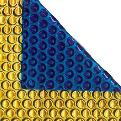21ft x 16ft Gold/Blue 500 Micron Swimming Pool Cover Solar Heat Blanket