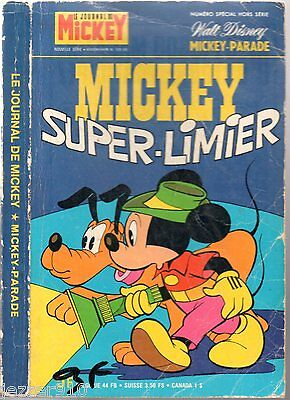 MICKEY PARADE n°1319 bis ~+~ EO 1977 ° MICKEY SUPER-LIMIER
