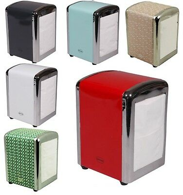 Cabanaz Retro Coloured Kitchen Table Tissue Dispenser