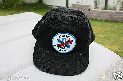 Ball Cap Hat - Alberta S.T.A.R.S. Helicopter Air Ambulance STARS (H709)