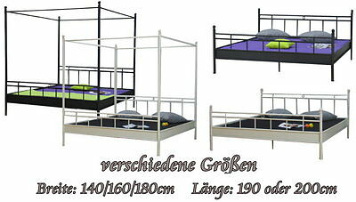 bettgestell aus metall wohndesign und inneneinrichtung. Black Bedroom Furniture Sets. Home Design Ideas