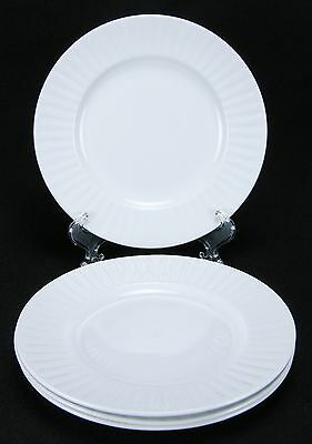 Alfred Meakin Leeds 4 Bread and Butter Plates  FLAWS!