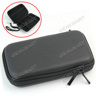 "Black Hard Carry Bag Case Cover for 2.5"" HDD Hard Disk Drive 3.5"" 4.8"" 5"" GPS"