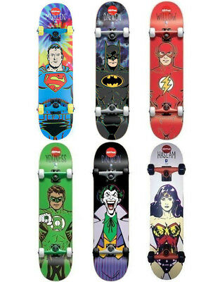 Almost x DC Complete Skateboard FREE POST DC Comics Skateboard Collab Villains