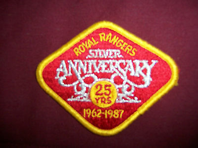 National Silver Anniversary Patch 1962-1987