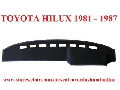 Dash Mat, Dashmat, Dashboard Cover Fit Toyota Hilux 1981-1987,  Grey