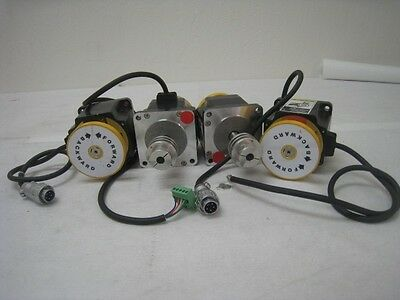 4 Oriental motors PK596-NBC Vexta, 5 phase stepper motor, 0.72 step DC, 1.4A